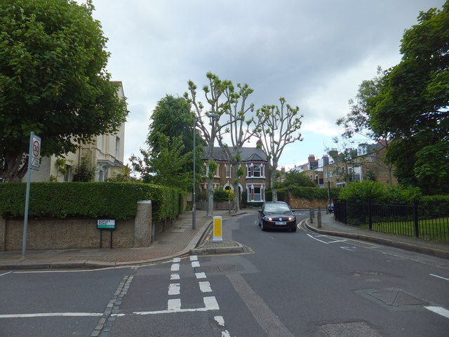 Junction of Aspley Road and St Anns Crescent, Wandswoth
