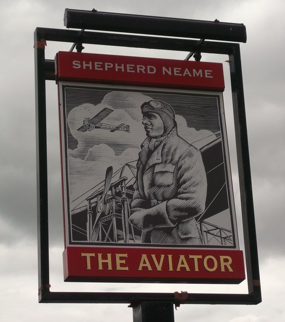 The Aviator pub Sign, Sheerness