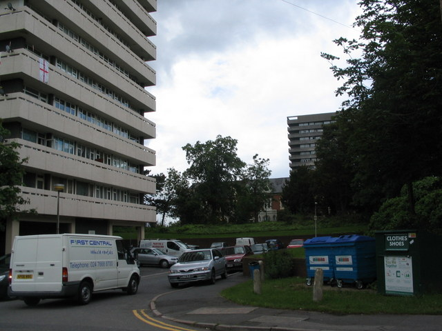 Tower blocks, Radford