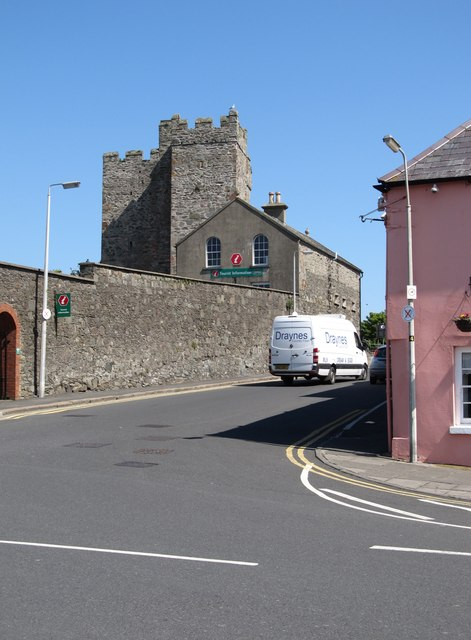 Portaferry Castle from Shore Road