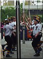 TQ2378 : Morris dancers, Ashcroft Square, King Street W6 by R Sones