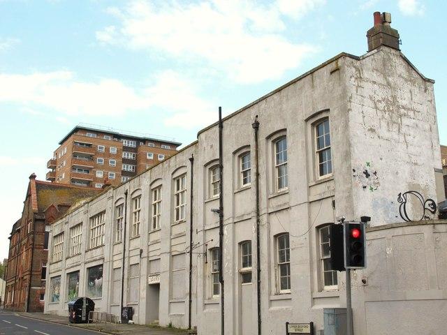Former school, Upper Bedford Street / Upper St. James's Street, BN2