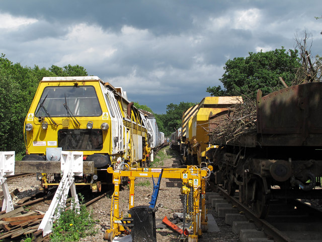 Rolling stock storage sidings