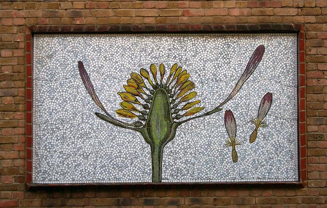 Mosaic panel, Ezra Street