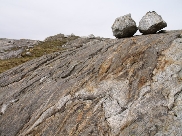 Roche Moutonnée and erratics