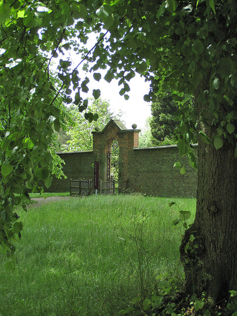 Entrance/exit, Rose Garden, Castle Howard