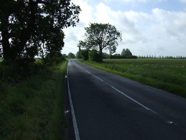 B662 towards Old Weston