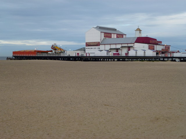 The Britannia Pier at Great Yarmouth