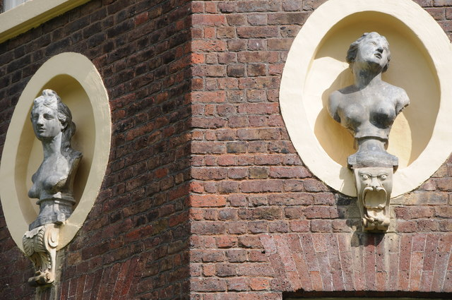 Busts on Ham House