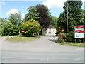 SO3601 : Main entrance to Coleg Gwent Usk Campus, Rhadyr by Jaggery