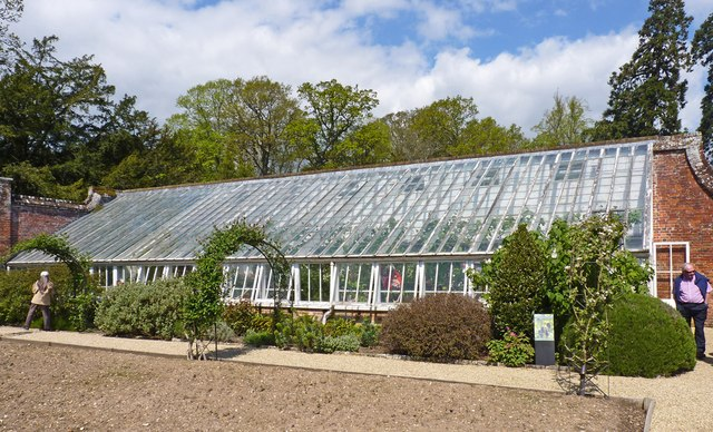 Greenhouse at Hinton Admiral