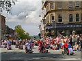 SD8010 : Market Place, Bury Lions Carnival Day Parade by David Dixon