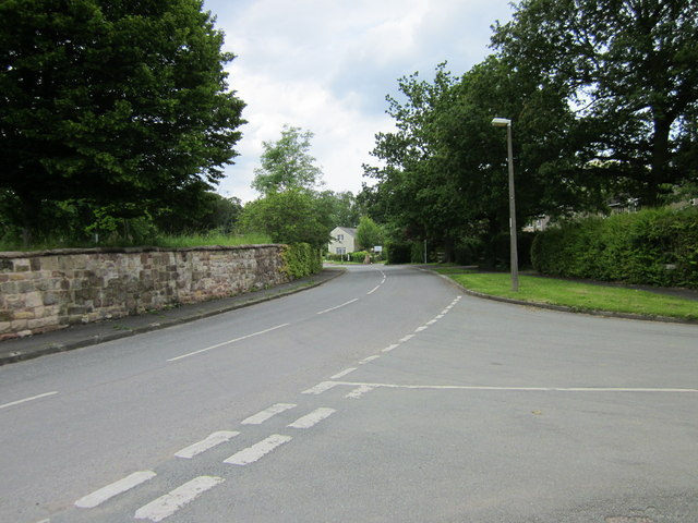 Junction of Church Lane and Gordon Lane, Backford