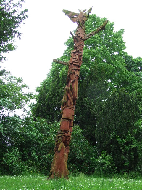 Sudbury's Silk Weaving Sculpture