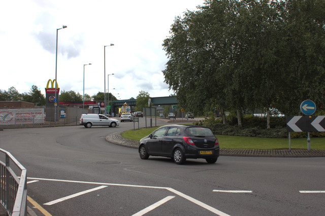 Roundabout on Stafford Road