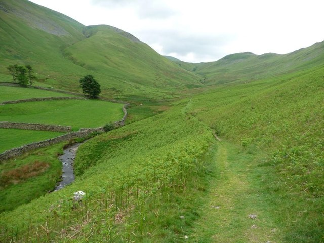 The path up Fusedale