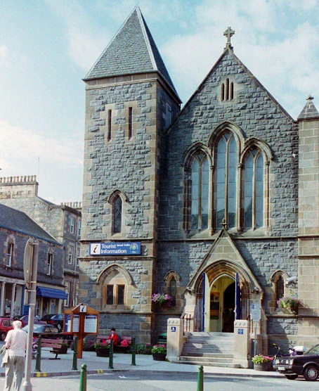 Tourist Information Centre in Oban, 1998