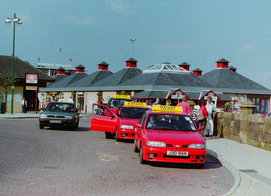 Oban Taxi Rank, 1998