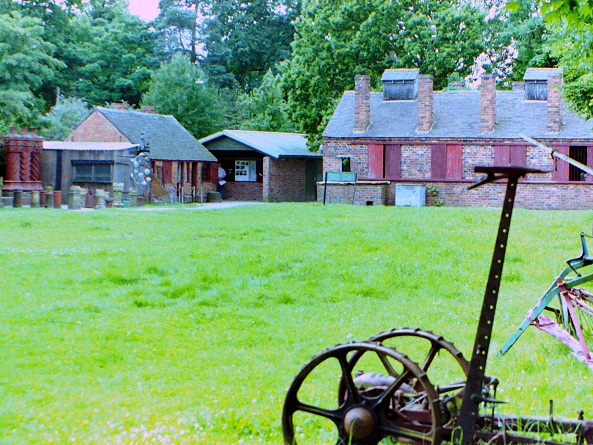 Workshops at Avoncroft Museum, 1998