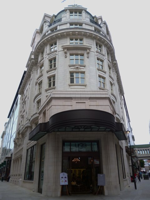 The former Regent Palace Hotel, Glasshouse Street W1