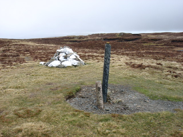 The summit of Carn Fawr