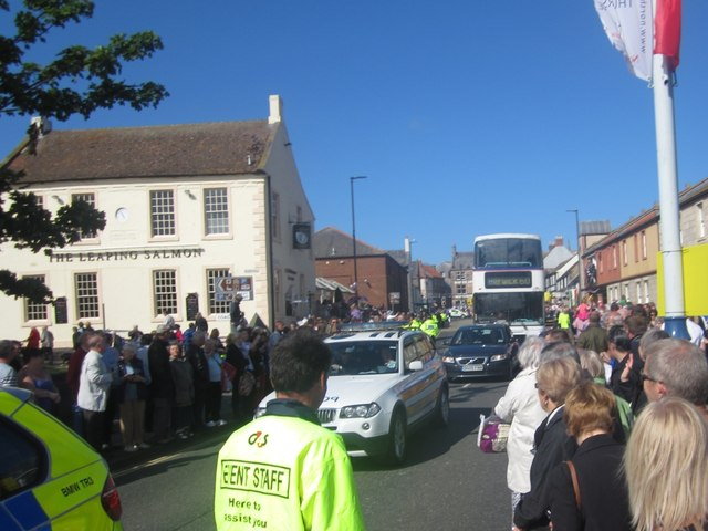 The end of the convoy - Olympic torch relay (14)