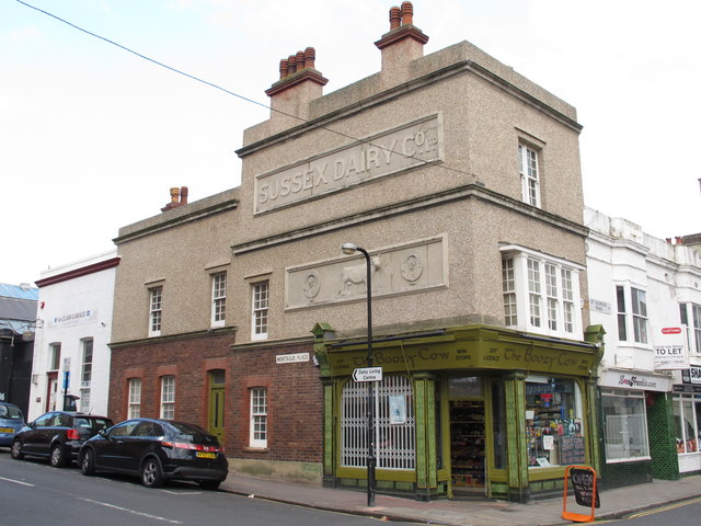 The Boozy Cow, Bristol Road /  Montague Place, BN2