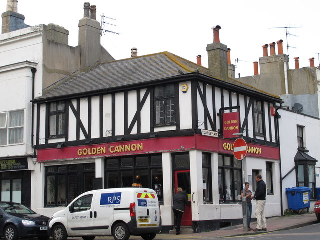 The Golden Cannon, St. George's Road / College Place, BN2