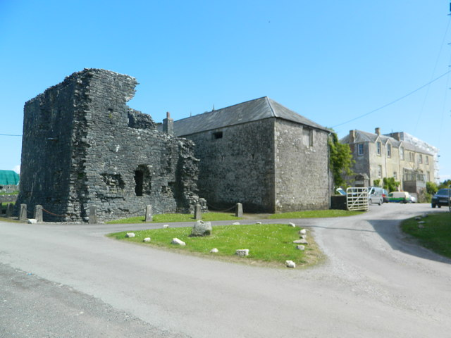Ruins Of Ewenny Priory Farm Building John Lord