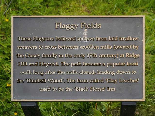 Flaggy Fields Information Plaque