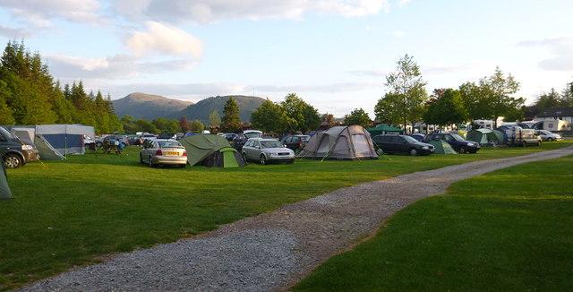 Lochy Holiday Park, Camaghael