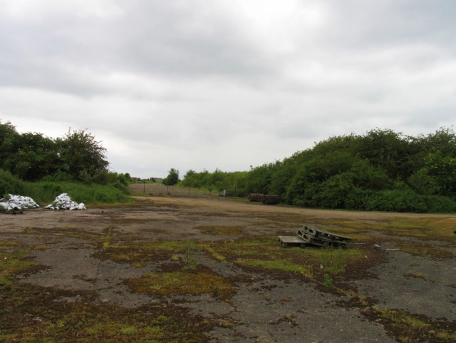Former RAF Luffenham airfield