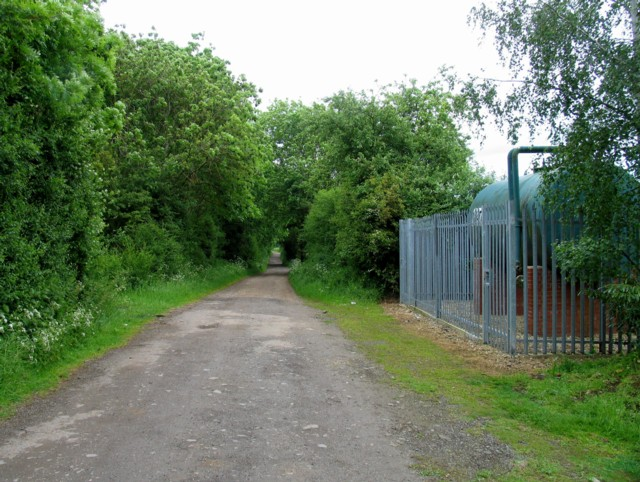 Past a water tank towards Ketton