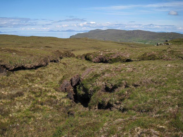 Summit plateau of Beinn nan Corrafidheag