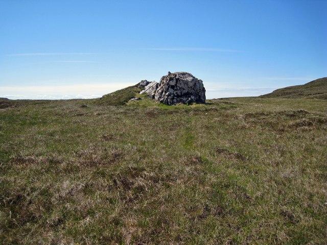 An odd rock