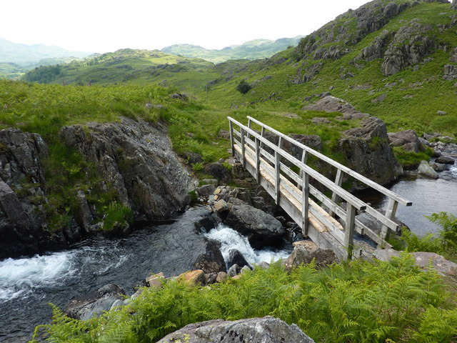 Footbridge over Tarn Beck