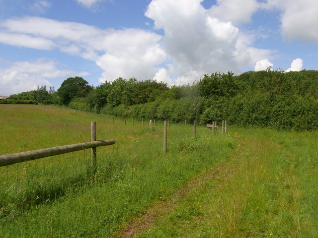 Bridleway south of Slade Wood