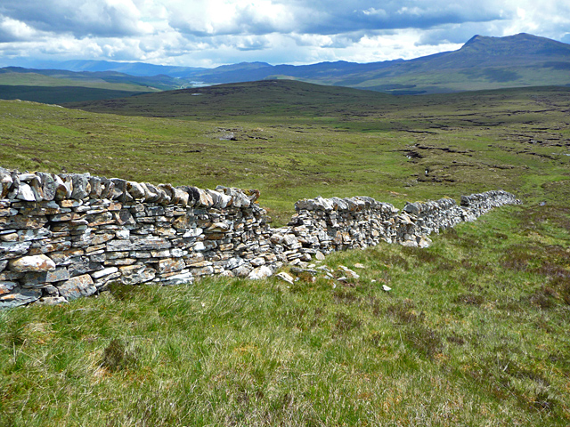 The wall below S&agrave;il an Tuim Bh&agrave;in