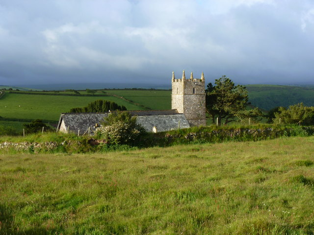 St John the Evangelist's church, Countisbury, Exmoor, Devon