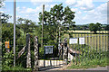 ST5907 : Chetnole: entrance to Chetnole Station by Martin Bodman