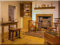 SJ8382 : Oak Cottage Parlour ca 1840 by David Dixon
