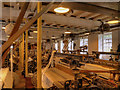 SJ8382 : Quarry Bank Mill Weaving Shed by David Dixon