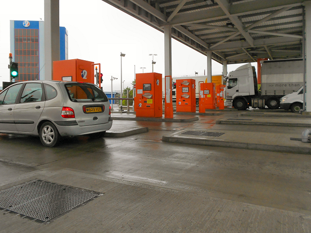 Toll Booths, Tyne Tunnel