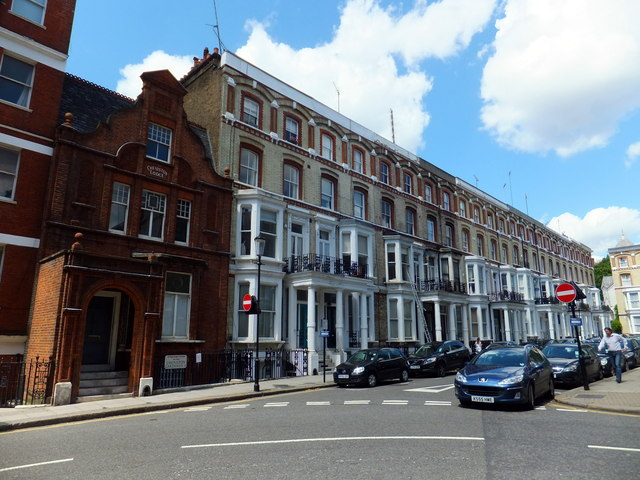 Houses in Cheniston Gardens, Kensington