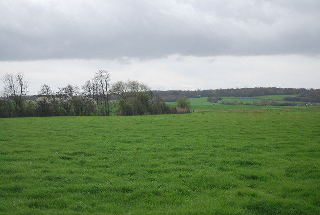 Flat farmland near Dumbourne