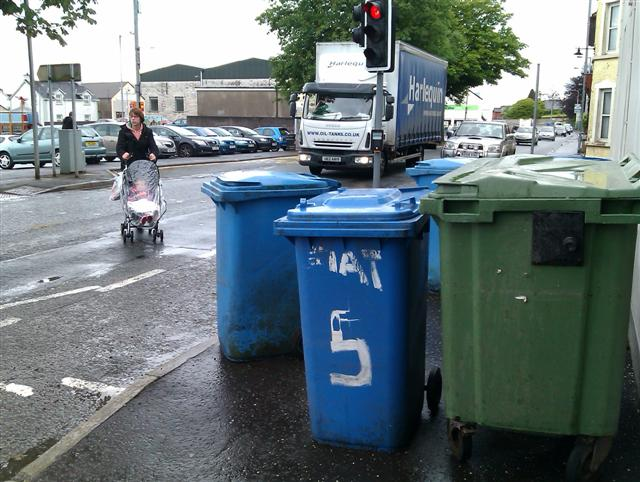 Bin collection, Fivemiletown