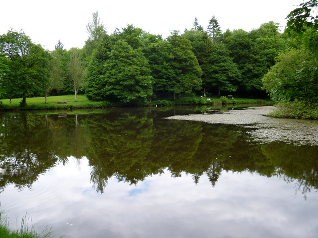 """Lady's Lake"" in Dun na Ri Forest Park"