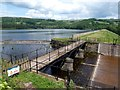 SK2592 : Agden Reservoir spillway by Graham Hogg