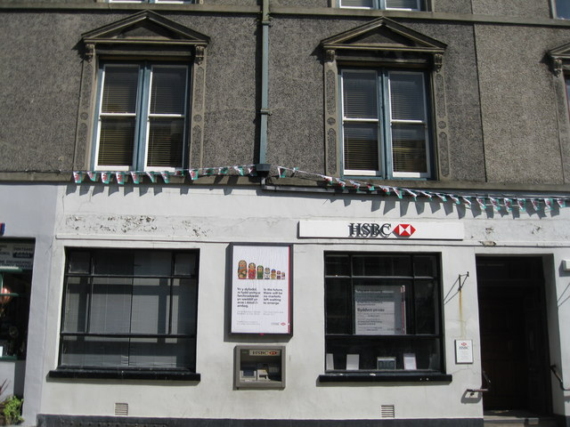 HSBC Criccieth