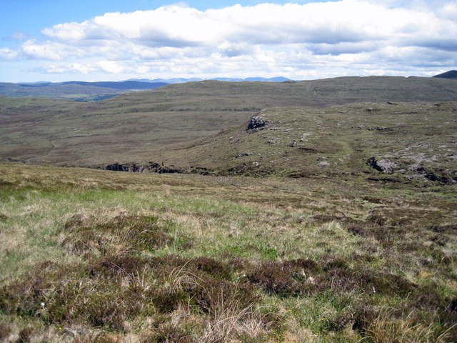 North east slope of Ben Corkeval